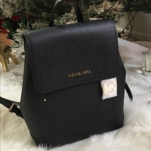 🌈🌈Michael Kors Hayes MD leather back